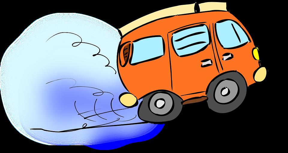 dodávka na cestách