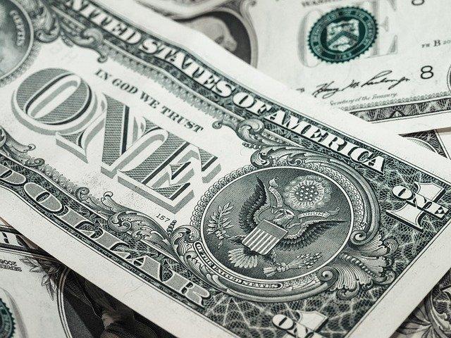 dolar bankovka