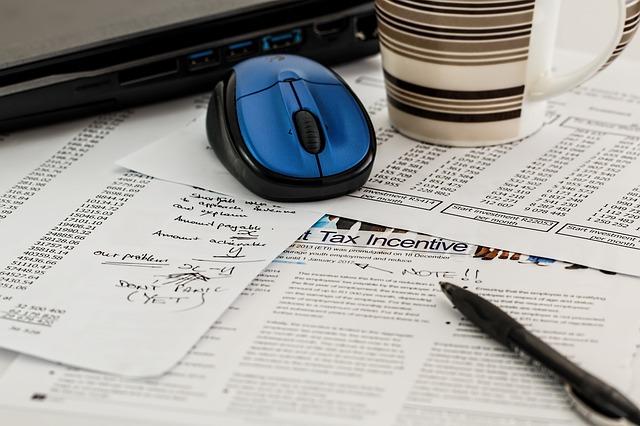 počítání zisku a ztráty