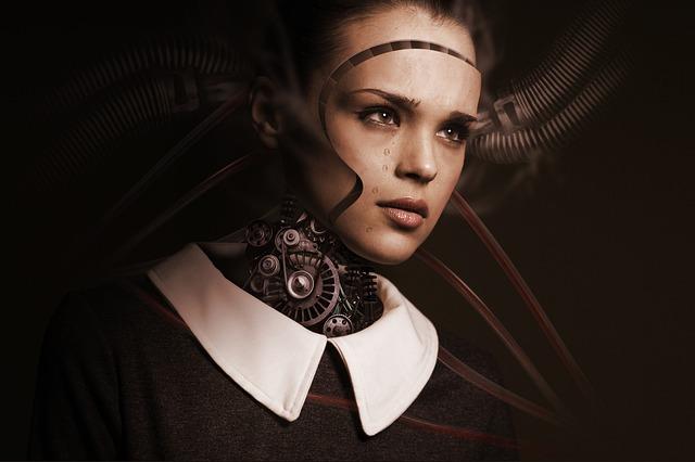 robotická dívka