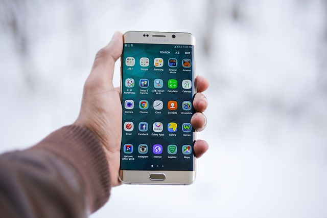 aplikace smartphonu
