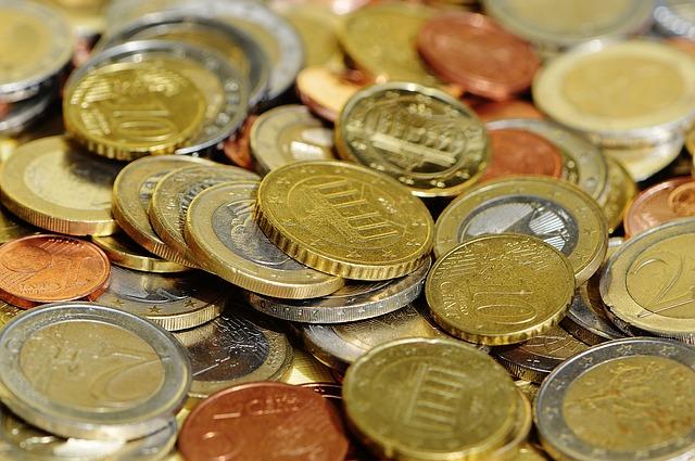 peníze - euro