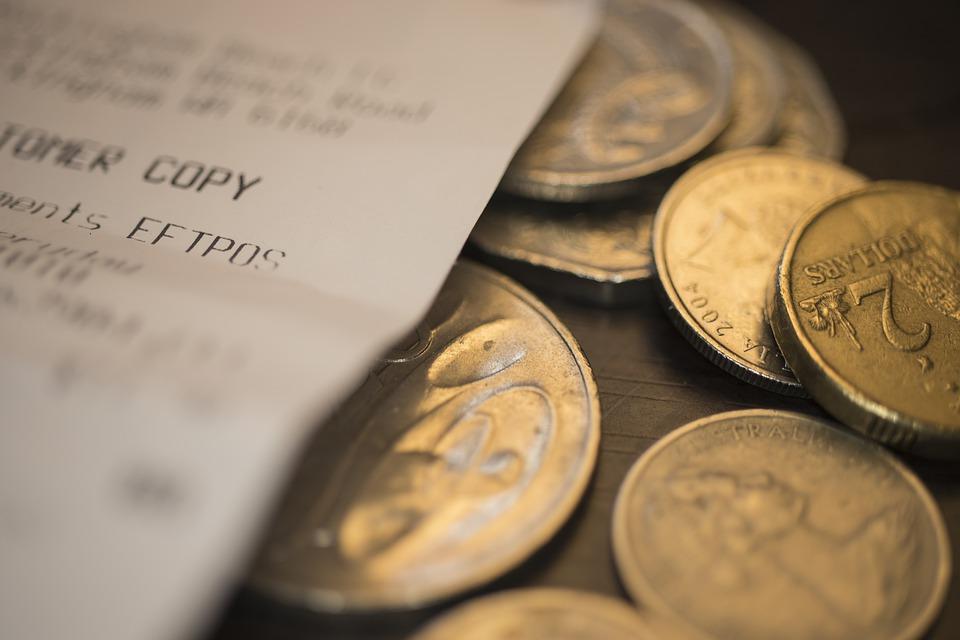 peníze s účtem