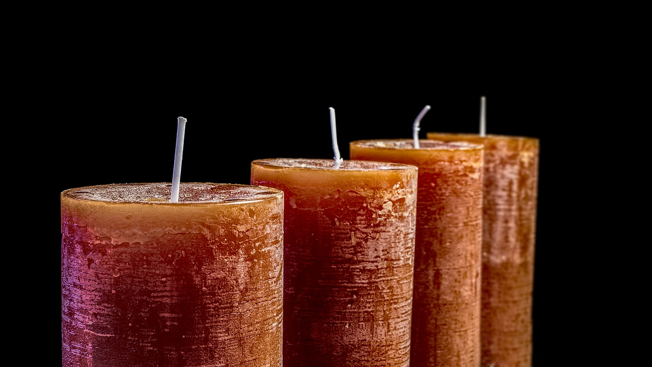 Svíčky, které mluví kduši